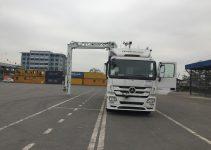 Kiểm xạ cho máy soi container di dộng mới