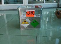 Cách đóng gói nguồn Kr-85 cho nhà máy giấy
