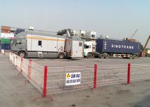 Lưu ý tránh tai nạn cho lái xe làm với máy soi container ở một số cảng XNK