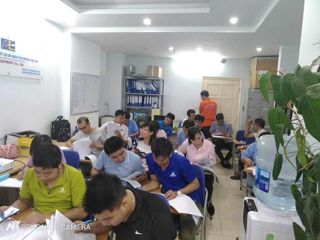 Đào tạo an toàn bức xạ tập trung tại Hà Nội