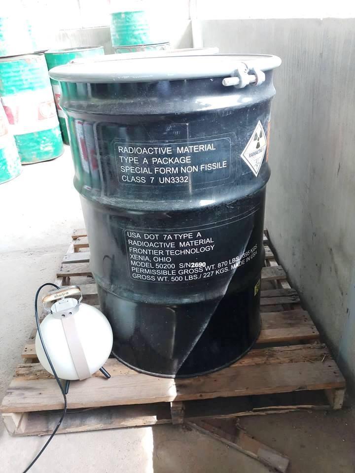 Kiểm xạ nguồn Cf-252 trong nhà máy xi măng