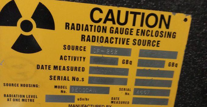 Lưu giữ nguồn phóng xạ sau khi nhập khẩu