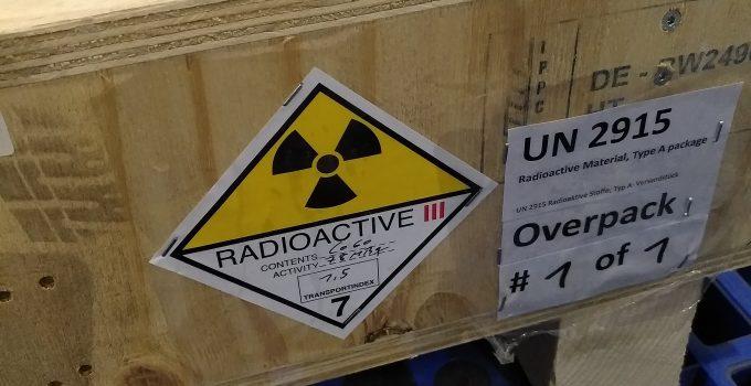 Vận chuyển nguồn phóng xạ Co-60 cho Thép Hòa Phát