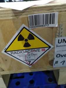 Nhập khẩu nguồn phóng xạ
