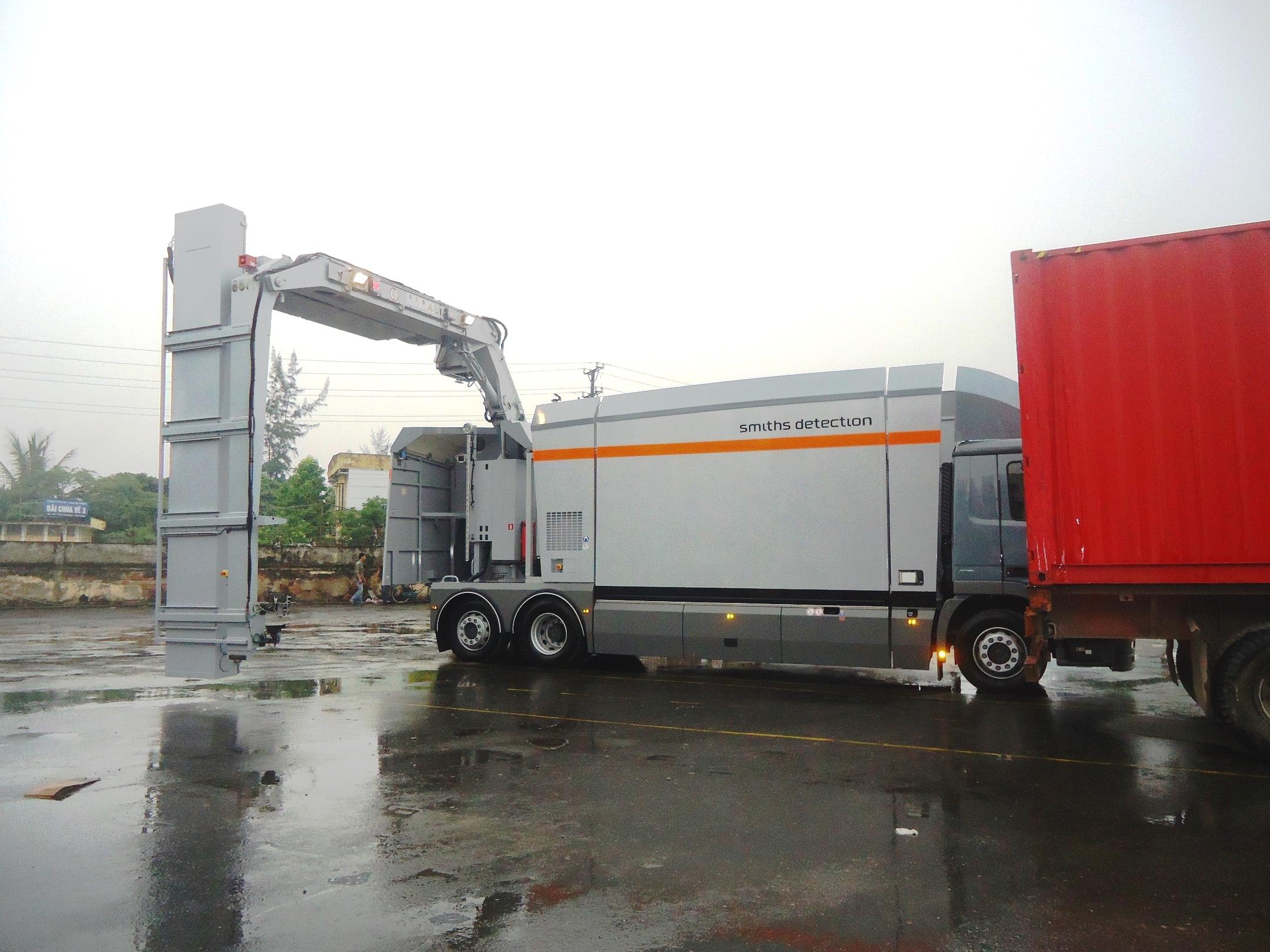 Máy soi container sử dụng tia X 4MeV